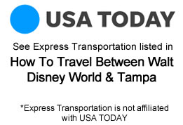 How To Travel To Disney from Tampa article on USA Today